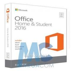 Software of Microsoft Office Mac Home and Student
