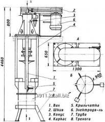 Mixer bladed 3,6х3,3