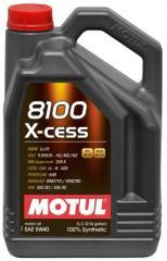 Масла моторные для мощных двигателей MOTUL 8100