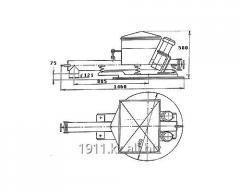 Bunker feeder horizontal BPV-0,12/0,89P