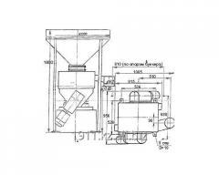 Bunker feeder screw BPV-50/40-25