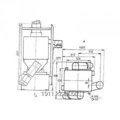 Bunker feeder screw BPV-20