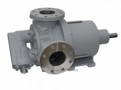 The electric gear pump with the electric motor