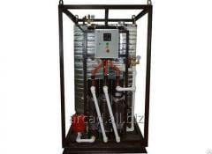 Installations of hot water supply of Wines 3-GVS-E