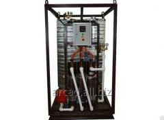 Installations of hot water supply of Wines 5-GVS-E