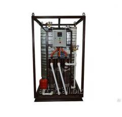 Installation of hot water supply of Wines 10-GVS-E