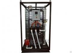 Installations of hot water supply of Wines