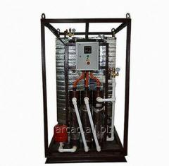 Installation of hot water supply of Wines 70-GVS-E