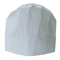 Caps paper for the cook of Disposable Cook Cap, an