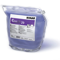 Disinfecting and Oasis PRO 20 Premium detergent,