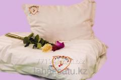 Bedding set for newly married with embroidery