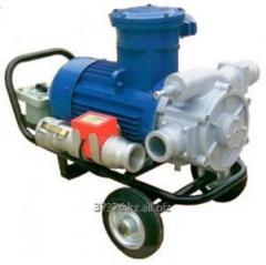 The pump for fuel pumping (light oil products)