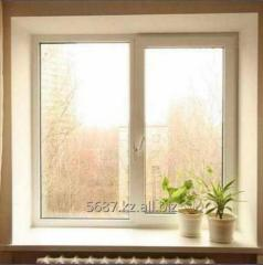 Single casement window