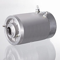 Electric motor of direct current 12B