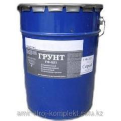 Primer GF-021 GF-021 soil
