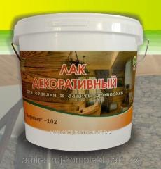 Varnish of Akrilit - 102 decorative for finishing