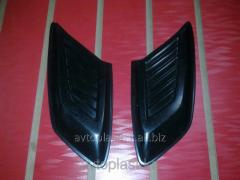 Gills on cowl M-Stayl the sizes 28*13*2