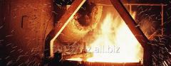 Броня неподвижная 297-4-0-1, стальное литье