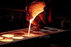 Втулка бортового редуктора внутренняя, литье из бронзы