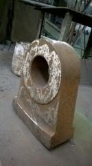 The hammer of a crusher SMD-97 35-17AK, casting