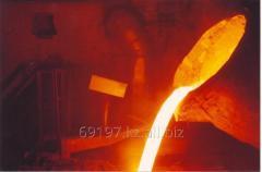 Плита футеровочная ПФ-001-000-00, отливки из стали