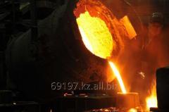 Сектор выходной решетки межкамерной перегородки 09.11-00-00-170, отливки из стали
