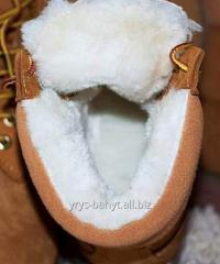 Fur shoe, Sheepskin