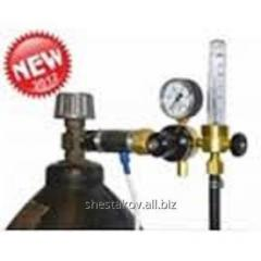 Ar/CO2 expense regulator with the rotameter from