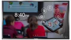 Interactive Promethean ActivPanel Touch 65 display