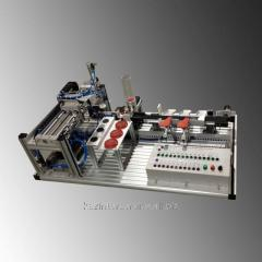 Educational equipment for studying of automatic