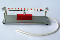 The device for demonstration of mechanical
