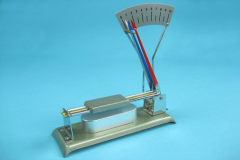 The device for demonstration of linear expansion