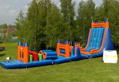Inflatable trampolines, attractions, trampoline