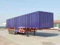Semi-trailers vans