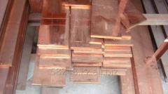 Strip copper 25kh4mm