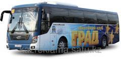 Branding of buses
