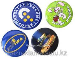 Souvenir badges, awards