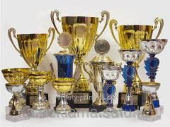 Cups are sports, prize 14.9