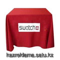 Production of a company cloth