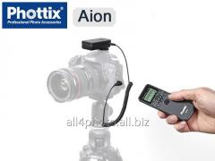 The panel wireless with the timer Phottix Aion for