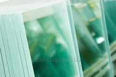 Sheet glass self-cleaning