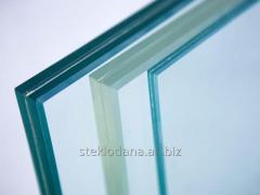 The sheet glass laminated