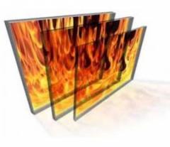 Sheet glass fire-resistan