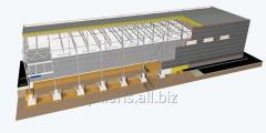 Warm warehouse