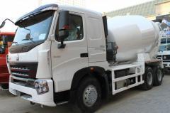 Howo Z1257N3847N1 auto concrete mixer