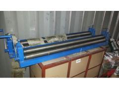 Ручной 3х валковый листогибочный станок 1–1200