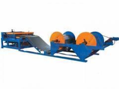 Equipment for a postforming of t-pf 590 turanlar