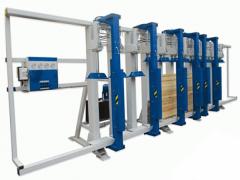 Прессы для склеивания бруса БВГ3-150, БВГ6-150,
