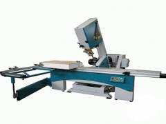 The quadrilateral delitelny machine for parquet