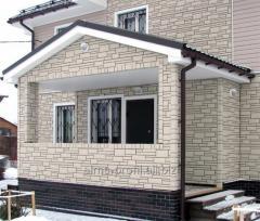 Фасадная панель серия камень